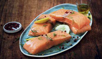 4 pavés de saumon atlantique, élevé en Norvège
