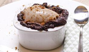 Soufflé chocolat-marron