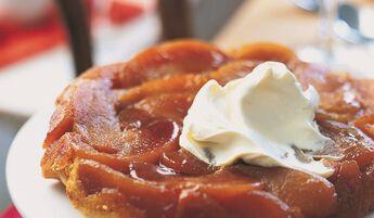 2 tartelettes Tatin pommes caramélisées