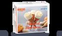 6 cônes abricot macaron