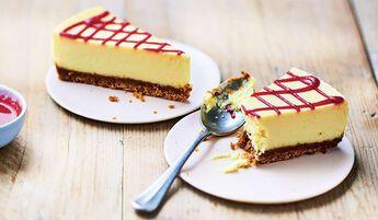 2 cheesecakes