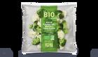 Duo de fleurettes bio (brocolis et chou-fleur)