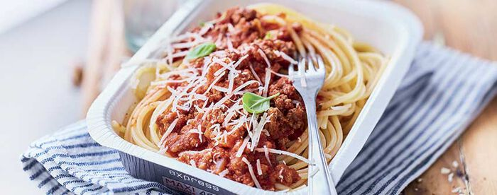 Spaghetti à la bolognaise