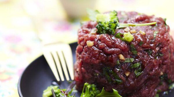 Tartare de bœuf Thaï