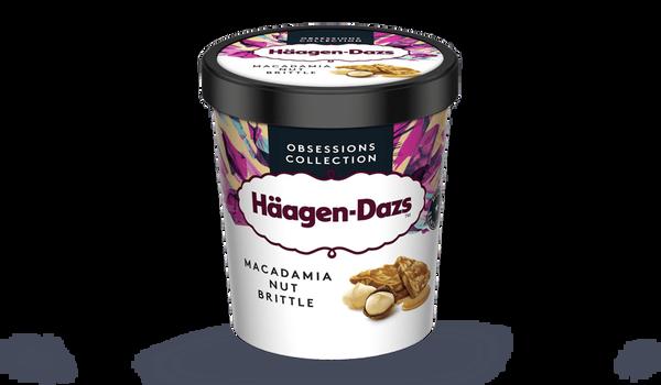 Crème glacée Macadamia Nut Brittle