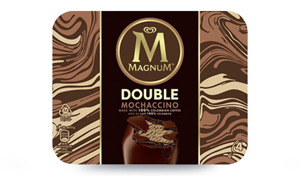 4 Magnum Double Mochaccino