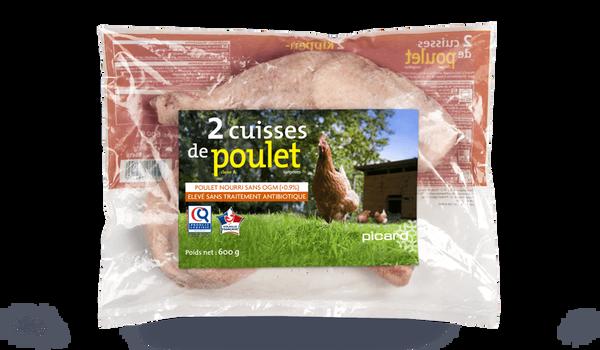 2 cuisses de poulet