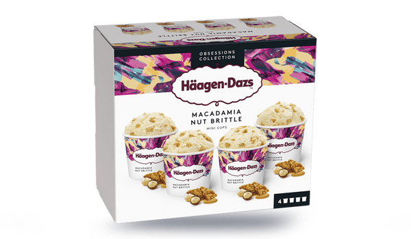 4 mini-pots Macadamia Nut Brittle