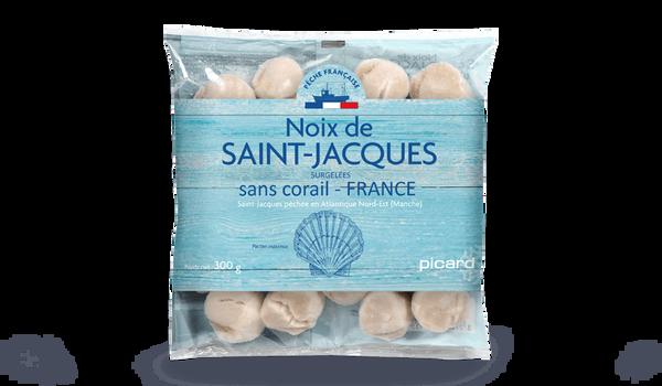 Noix de Saint-Jacques France Pecten sans corail