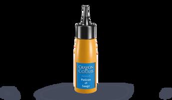 Crayon de coulis potiron et sauge