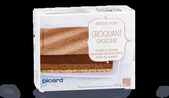 Croquant chocolat, 3 parts