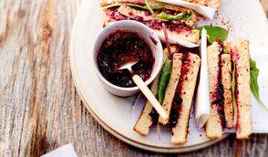 Croque au foie gras