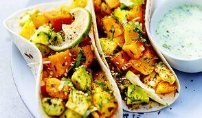 Tacos avocat-mangue-potiron