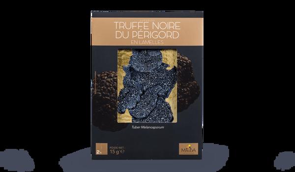 Truffe noire du Périgord, en lamelles