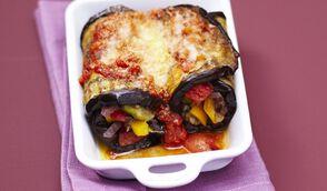 Cannelloni d'aubergines aux légumes à la provençale