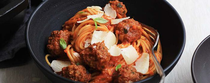 One pot pasta boulettes kefta