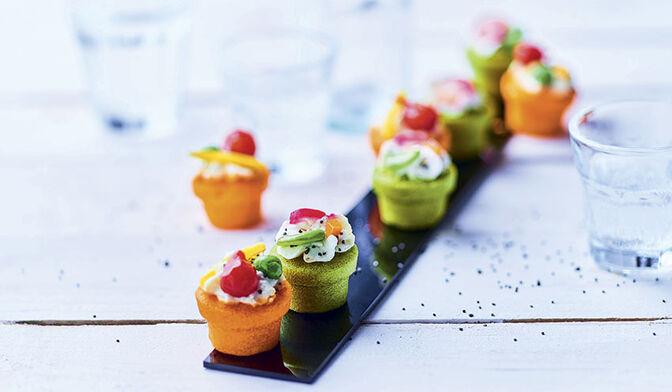 8 bouchées apéritives aux légumes