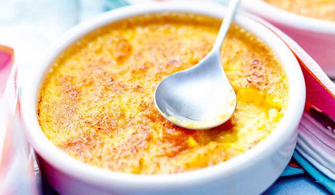 Crème catalane agrumes - safran