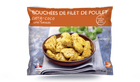 Bouchées de filet de poulet curry coco