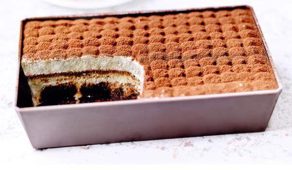 Tiramisù, crème mascarpone,biscuit imbibé de café