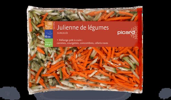 Julienne de légumes, Italie
