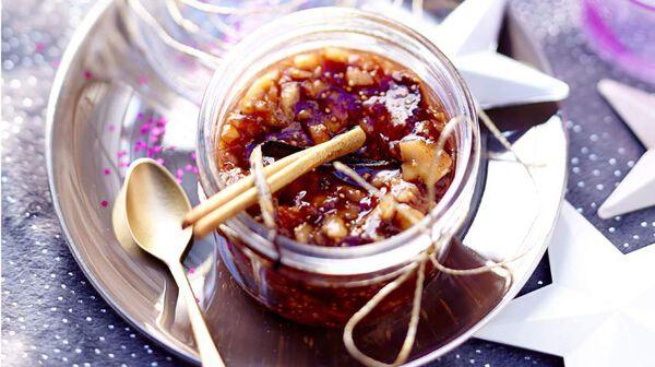Confiture de noël aux figues et épices