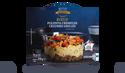 Boeuf, polenta crémeuse, légumes grillés