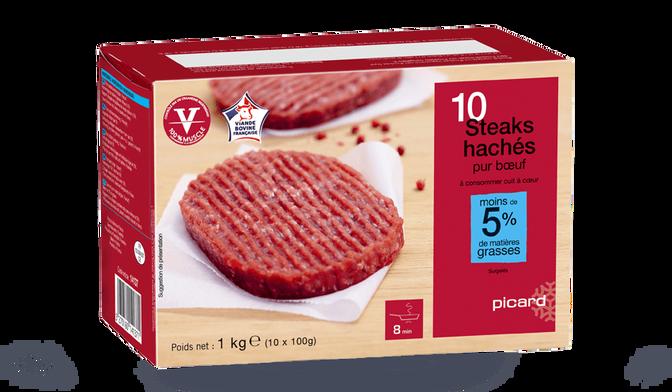 10 steaks hachés