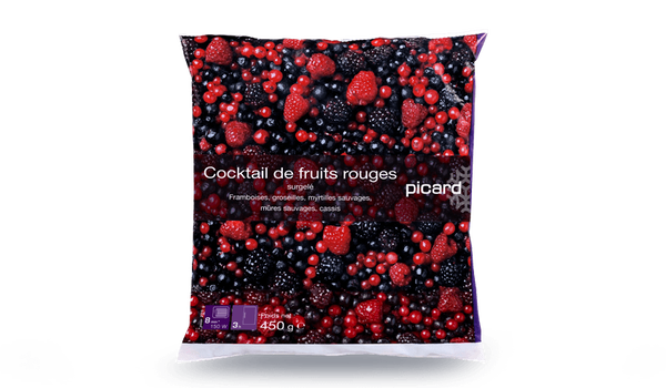 Cocktail de fruits rouges