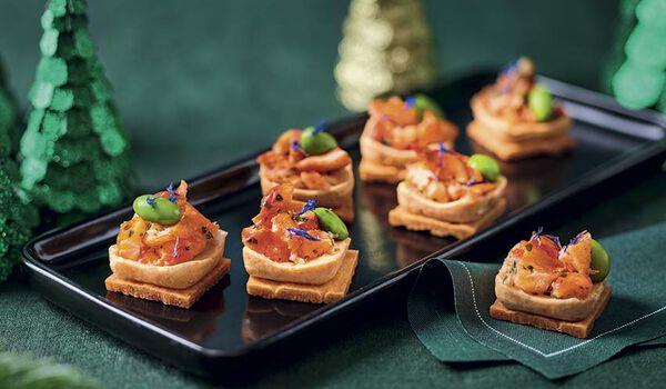 8 bouchées homard sauce à l'armoricaine