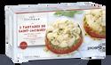 2 tartares de St Jacques aux tomates confites