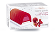 Bûche glacée fruits rouges-pêche de vigne, 8 parts