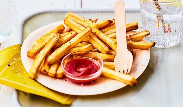 Frites à four