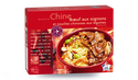 Boeuf aux oignons, nouilles chinoises aux légumes