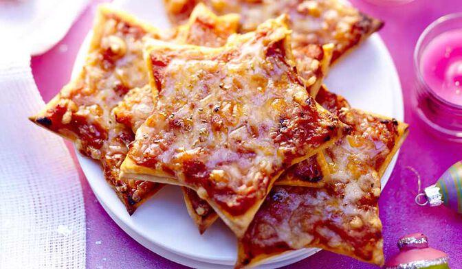 Feuilleté étoile à la tomate et au fromage de brebis