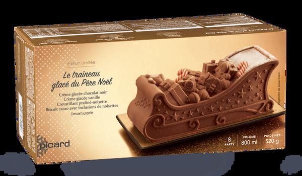 Le traineau glacé du Père Noël, 8 parts