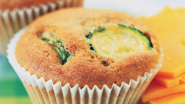 Muffins sucrés aux courgettes