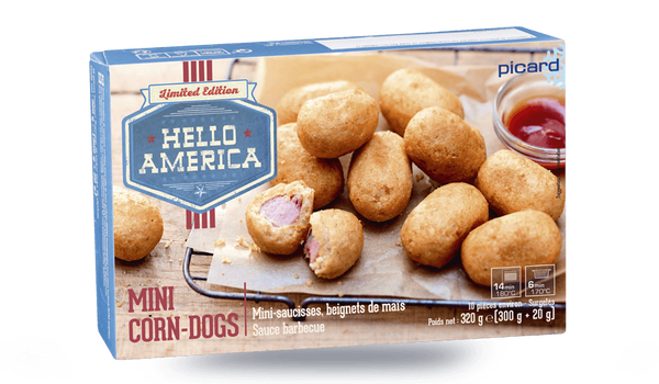 Mini corn-dogs