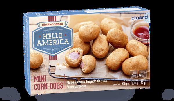 Mini corn-dogs
