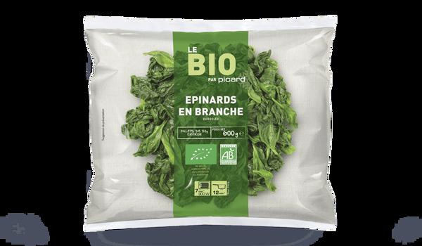 Epinards en branches bio