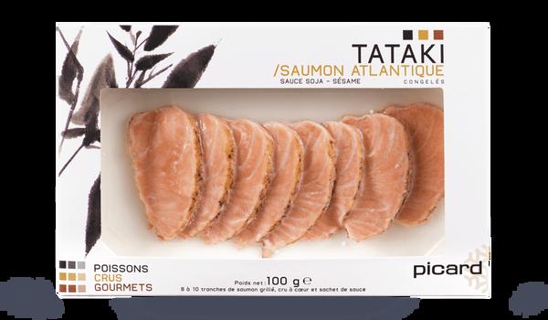 Tataki de saumon atlantique