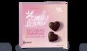 12 coeurs guimauve au chocolat noir