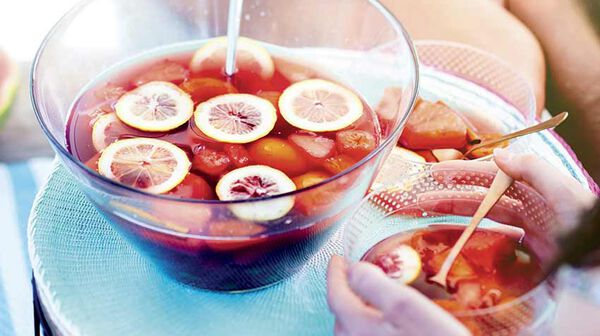 Soupe fruitée