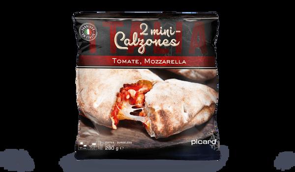 2 mini-calzones tomate mozzarella Italia