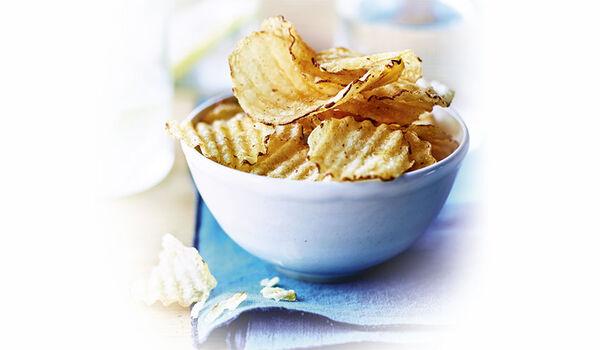 Chips salées