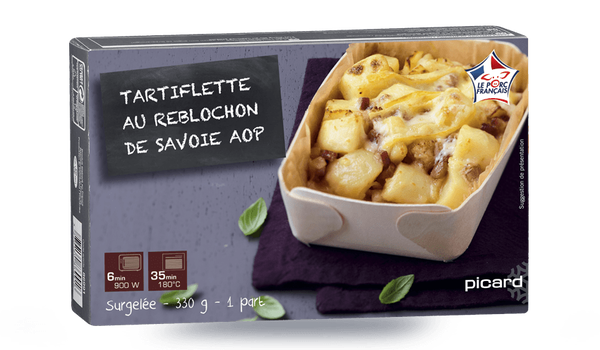 Tartiflette au Reblochon de Savoie AOP