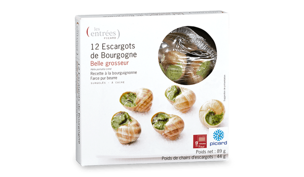 12 escargots belle grosseur