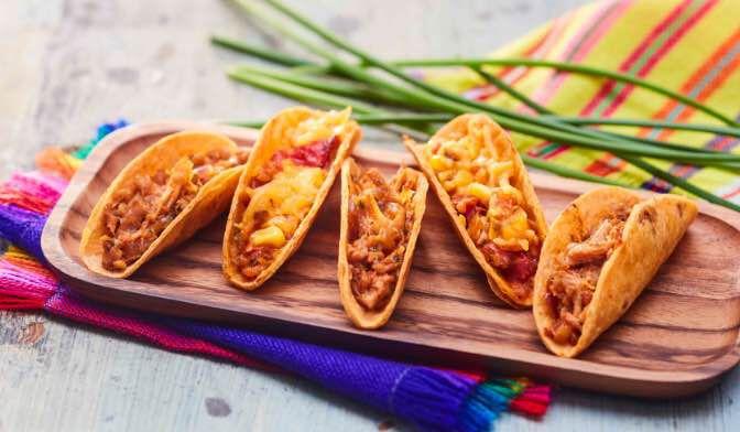 Assortiment de mini-tacos