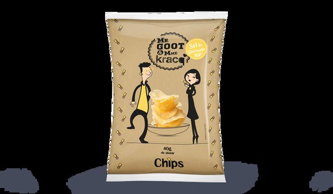 Chips au sel de Guérande Mr Goot <(>&<)> Mme Kracq