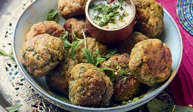 Chicken balls à l'indienne